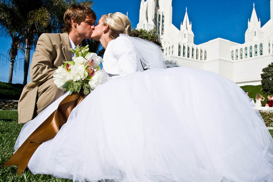 ntc promenade wedding photo 8 5fdc Cameron & Lindsay   San Diego LDS Temple & NTC at Liberty Station Wedding
